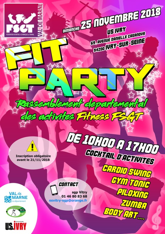 La 2ème Fit'Party FSGT !