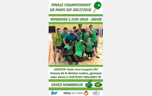 Tennis de table : Championnat de Paris IDF