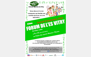 Le 32ème Forum de l'ES Vitry !