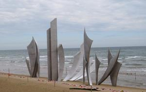 Sculpture Les Braves St Laurent sur Mer